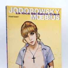 Cómics: EL CORAZÓN CORONADO 1. LA LOCA DEL SACRE COEUR (JODOROWSKY / MOEBIUS) NORMA, 1993. Lote 156858472