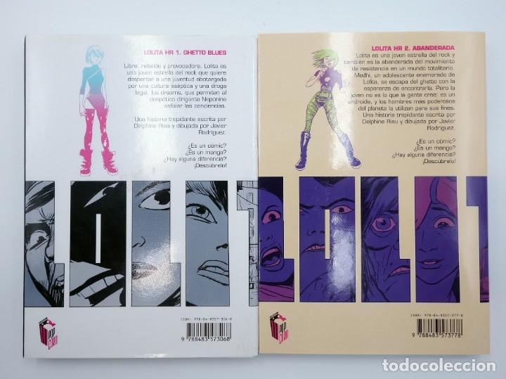 Cómics: LOLITA HR 1 Y 2. COMPLETA (Javier Rodríguez Y Rieu) Glenat, 2007. OFRT antes 17,9E - Foto 2 - 271831808