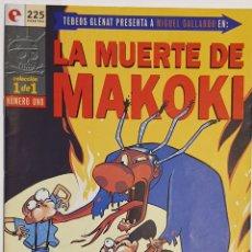 Cómics: LA MUERTE DE MAKOKI. Lote 158866160