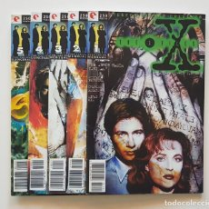 Cómics: TOPP COMICS - THE X FILES COMIC Nº 1 AL 5 EXPEDIENTE X AÑOS 90. Lote 159131314