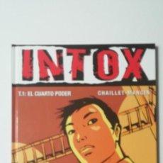 Cómics: INTOX T1 EL CUARTO PODE-GLENAT-TAPA DURA. Lote 159842494