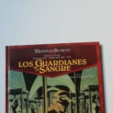 Comics : TRIANGULO SECRETO 3 EL MANUSCRITO DE CAGLIOSTRO-GLENAT-TAPA DURA. Lote 160165454