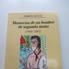 Comics : MEMORIAS DE UN HOMBRE DE SEGUNDA MANO (1968-1982) - RAMON BOLDU - GLENAT CS140B. Lote 160941886
