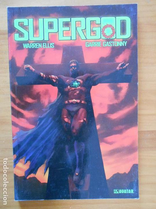 SUPERGOD - WARREN ELLIS, GARRIE GASTONNY - GLENAT - AVATAR (BC) (Tebeos y Comics - Glénat - Comic USA)
