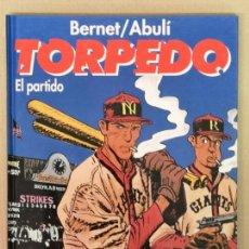 Cómics: TORPEDO EDT. GLENAT, EL PARTIDO. Lote 163058450