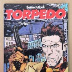 Cómics: TORPEDO EDT. GLENAT, TIC TAC. Lote 163059350