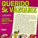 Cómics: GENIOS DEL HUMOR Nº 4 QUERIDO SR. VAZQUEZ (VAZQUEZ) GLENAT - MUY BUEN ESTADO - OFI15. Lote 163929406