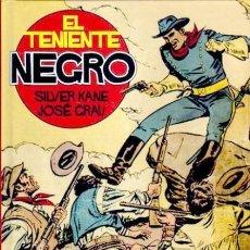 Cómics: EL TENIENTE NEGRO (SILVER KANE / JOSE GRAU) GLENAT - IMPECABLE - OFF15. Lote 163931094