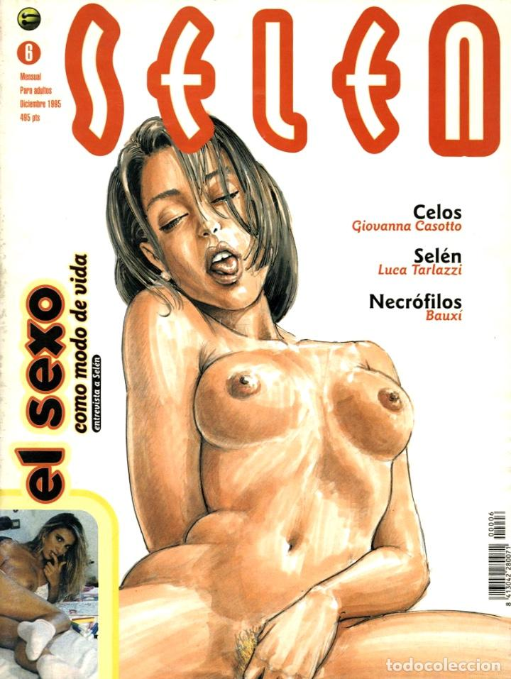 SELEN-6 (GLÉNAT, 1995) (Tebeos y Comics - Glénat - Serie Erótica)