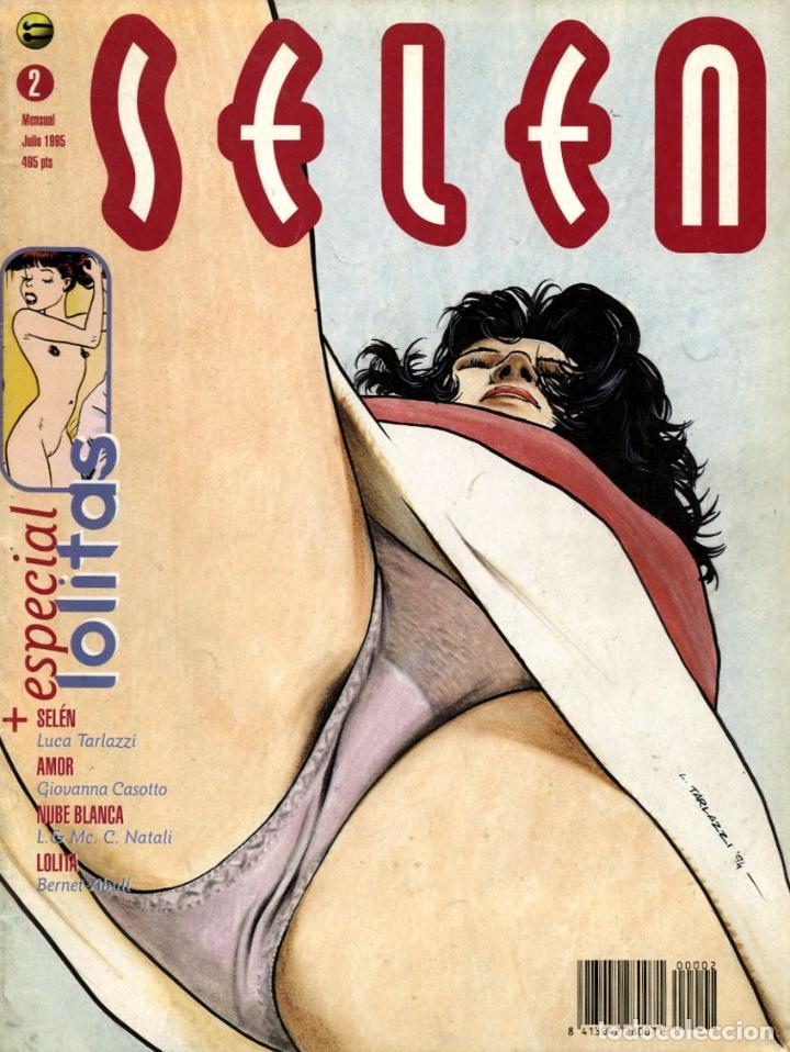 SELEN-2 (GLÉNAT, 1995) (Tebeos y Comics - Glénat - Serie Erótica)