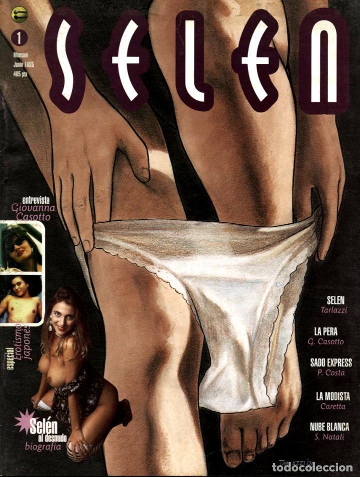 SELEN-1 (GLÉNAT, 1995) (Tebeos y Comics - Glénat - Serie Erótica)