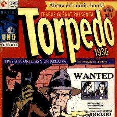 Cómics: TORPEDO 1936 NÚMERO 1 (GLÉNAT, 1994) DE BERNET Y ABULÍ. TEBEOS GLÉNAT. Lote 289829333