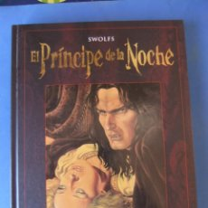 Cómics: EL PRICIPE DE LA NOCHE INTEGRAL GLENAT 2011. Lote 166258918