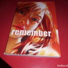 Cómics: REMEMBER BENJAMIN GLÉNAT 2007 LIBRO PARA COLECCIÓN. Lote 166636482