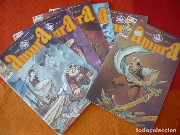 AMURA Nº 1 AL 6 ( SERGIO GARCIA ) ¡COMPLETA! ¡BUEN ESTADO! GLENAT (Tebeos y Comics - Glénat - Comic USA)