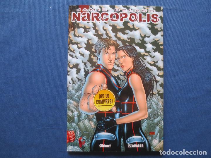 NARCOPOLIS DE JAMIE DELANO - GLÉNAT COLECCIÓN AVATAR - TOMO ÚNICO 104 PÁGINAS (Tebeos y Comics - Glénat - Comic USA)
