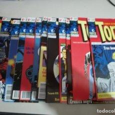 Cómics: TORPEDO 1936, GLÉNAT LOTE 18 TEBEOS NÚMEROS 13 A 30 AMBOS INCLUSIVE. REF. UR EST. Lote 167488304