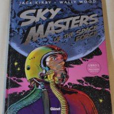 Cómics: SKY MASTERS OF THE SPACE FORCE #1 - KIRBY Y WOOD (TIRAS DIARIAS 1958-1959) + POSTER PROMOCIONAL. Lote 167882476