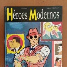 Cómics: HÉROES MODERNOS, DE GALLARDO Y VIDAL-FOLCH GLÉNAT, 1998 TAPA DURA. Lote 168037452
