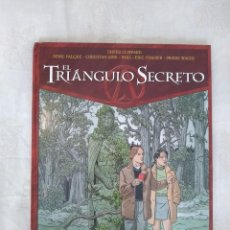 Cómics: EL TRIÁNGULO SECRETO Nº 2. Lote 168553284