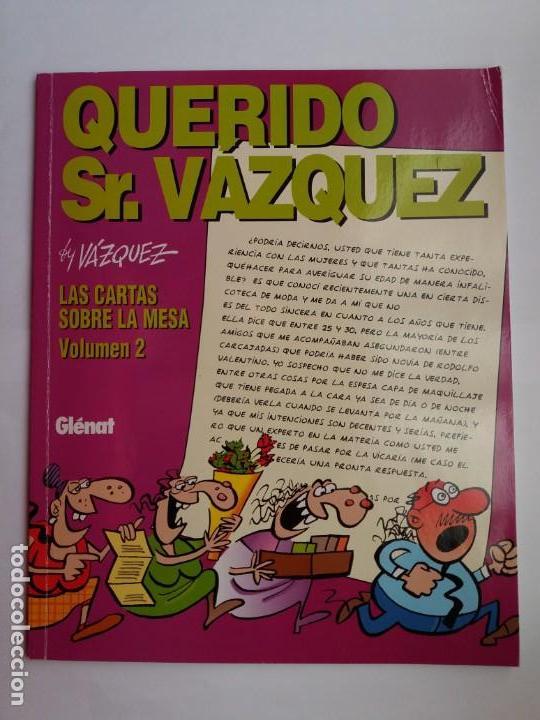 Cómics: LOTE COMICS VAZQUEZ. GLÉNAT. 1993-1995. - Foto 3 - 168951120