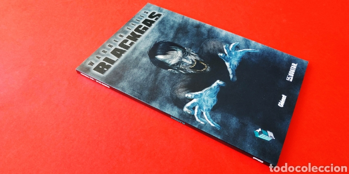 DE KIOSCO WARREN ELLIS BLACKGAS GLENAT (Tebeos y Comics - Glénat - Comic USA)