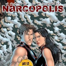 Cómics: NARCOPOLIS (JAMIE DELANO) GLENAT - MUY BUEN ESTADO - OFI15T. Lote 169405048