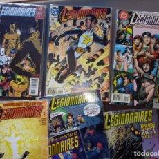 Cómics: LEGIONNAIRES. LEGION DE SUPER HÉROES. DC. LOTE DE 19 CÓMICS.. Lote 169798920