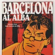 Comics: BARCELONA AL ALBA, ALFONSO FONT Y JUAN ANTONIO DE BLAS, EDT. GLÉNAT 2004. Lote 170183732