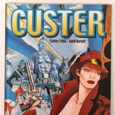 Cómics: CUSTER, CARLOS TRILLO-JORDI BERNET, EDT. GLÉNAT 2001. Lote 170184764