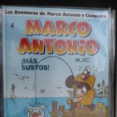 Cómics: LAS AVENTURAS DE MARCO ANTONIO Y CLEOPATRA. COMPLETA EN 4 TOMOS. GLÉNAT. Lote 170231316