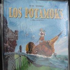 Cómics: LOS POTAMOKS. TOMO 1. TIERRA INCOGNITA. GLENAT. Lote 170231468
