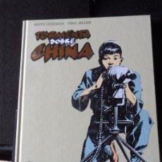 Cómics: TORMENTA SOBRE CHINA. PAUL GILLON Y ROGER LECUREUX. INTEGRAL GLENAT TAPA DURA. Lote 184652448