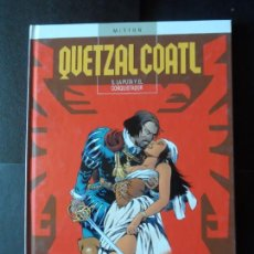 Cómics: QUETZALCOATL Nº 5 LA PUTA Y EL CONQUISTADOR (MITTON) EDITORIAL GLENAT - TAPA DURA . Lote 171373702