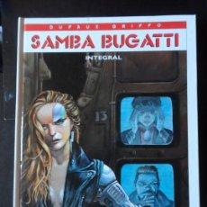 Cómics: SAMBA BUGATTI INTEGRAL GRIFFO JEAN DUFAUX EDITORIAL GLÉNAT 2001 TAPA DURA. Lote 171374329