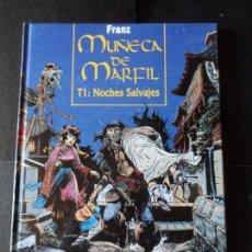 Cómics: MUÑECA DE MARFIL. TOMO 1 NOCHES SALVAJES EDITORIAL GLENAT TAPA DURA . Lote 171375513