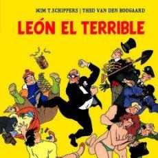 Cómics: COMIC001* LEÓN EL TERRIBLE, GLÉNAT, THEO VAN DEN BOOGAARD, WIM T. SCHIPPERS. Lote 171662187
