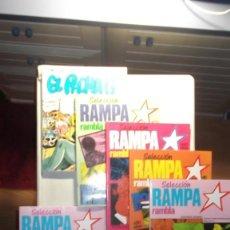 Cómics: LOTE DE 6 COMICS PARA ADULTOS ; RAMPA RAMBLA Y EL PACHA G. Lote 171705967