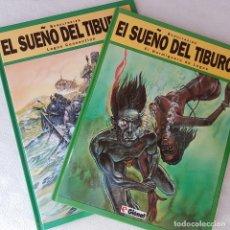 Cómics: COLECCIÓN COMPLETA EL SUEÑO DEL TIBURÓN (SCHULTHEISS, GLENAT). NUEVOS DE LIBRERIA!. Lote 171791175