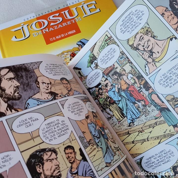 Cómics: JOSUÉ DE NAZARETH T2: EL HIJO DE LA VIRGEN (COTHIAS, DE LA FUENTE, GLENAT). NUEVO DE LIBRERIA! - Foto 2 - 171792123