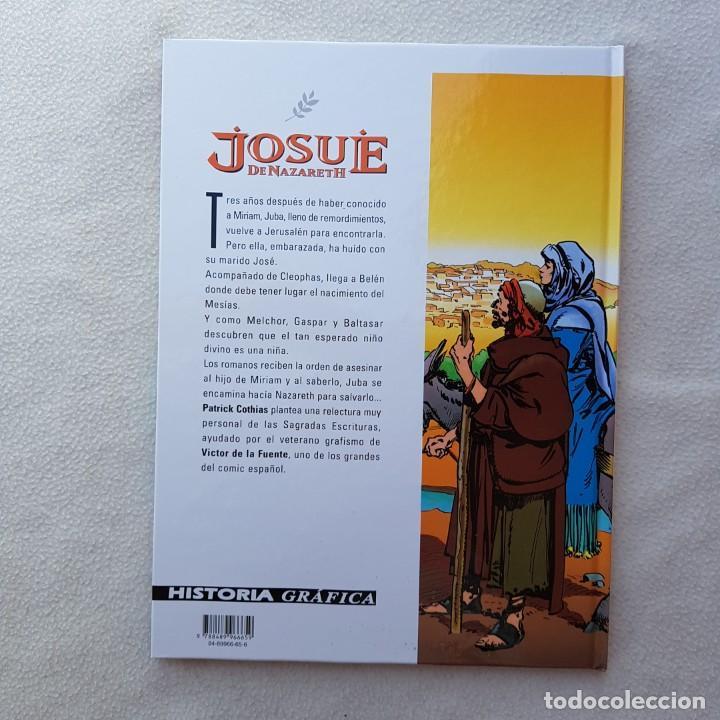 Cómics: JOSUÉ DE NAZARETH T2: EL HIJO DE LA VIRGEN (COTHIAS, DE LA FUENTE, GLENAT). NUEVO DE LIBRERIA! - Foto 3 - 171792123