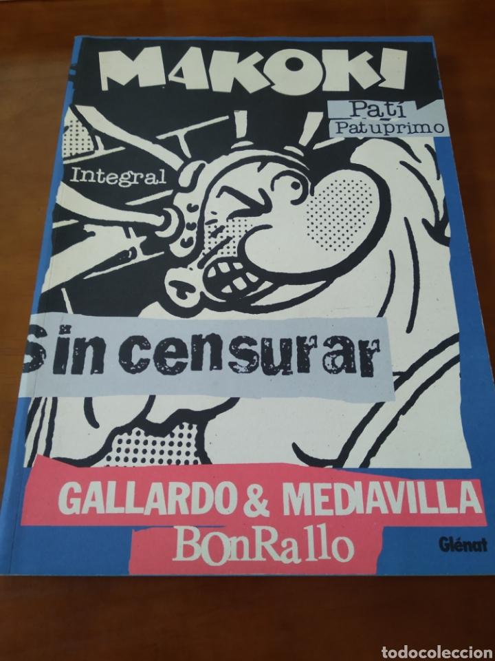 MAKOKI. INTEGRAL. GALLARDO Y MEDIAVILLA. (Tebeos y Comics - Glénat - Autores Españoles)
