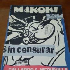 Cómics: MAKOKI. INTEGRAL. GALLARDO Y MEDIAVILLA.. Lote 171953755