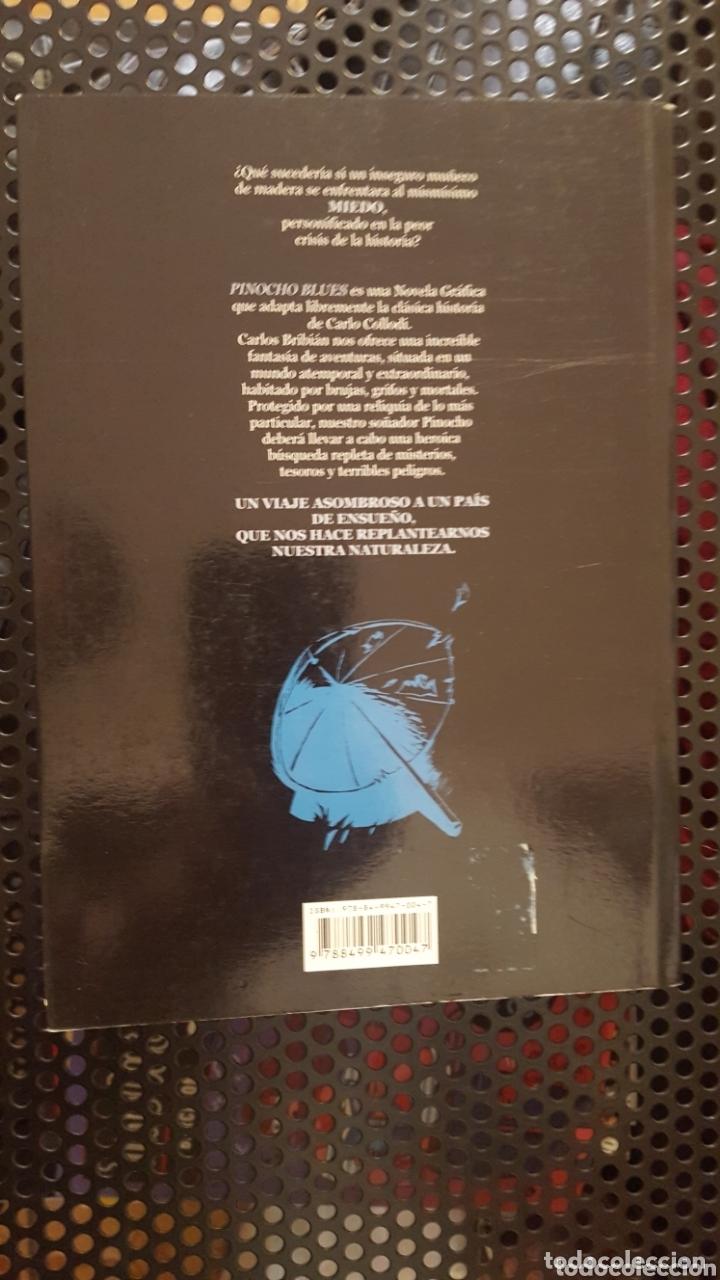Cómics: Comic - Pinocho blues - Carlos Bribián - Glenat - 2010 - Con sketch / dibujo del autor - Foto 2 - 172148100