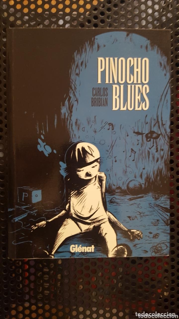 COMIC - PINOCHO BLUES - CARLOS BRIBIÁN - GLENAT - 2010 - CON SKETCH / DIBUJO DEL AUTOR (Tebeos y Comics - Glénat - Autores Españoles)