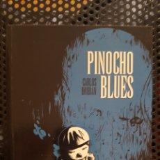 Cómics: COMIC - PINOCHO BLUES - CARLOS BRIBIÁN - GLENAT - 2010 - CON SKETCH / DIBUJO DEL AUTOR. Lote 172148100