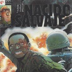 Cómics: NACIDO SALVAJE - 3 NºS - COMPLETA -- F. DE FELIPE - A ESTRENAR . Lote 173063224