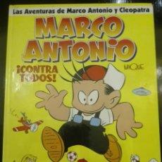 Cómics: MARCO ANTONIO. ¡ CONTRA TODOS !. GLENAT. TAPA DURA. Lote 173471834