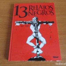 Cómics: COMIC , GLENAT: 13 RELATOS NEGROS. Lote 173487909