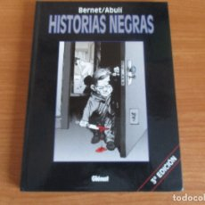 Cómics: COMIC , GLENAT: HISTORIAS NEGRAS (3ª EDICION). Lote 173487970